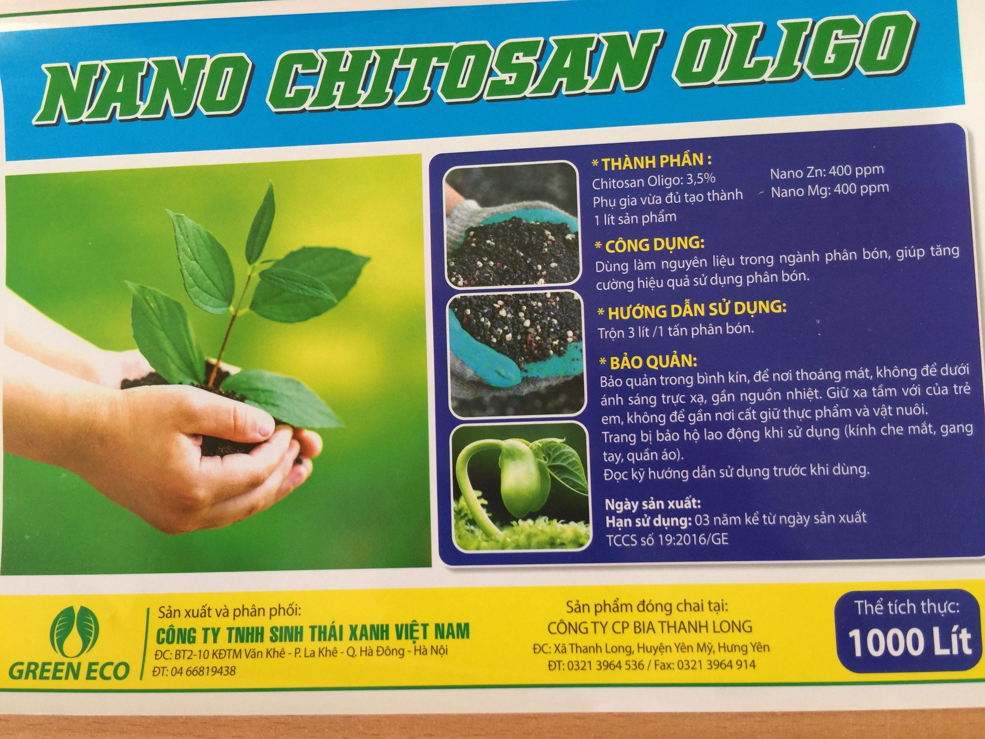 Nano chitosan oligo